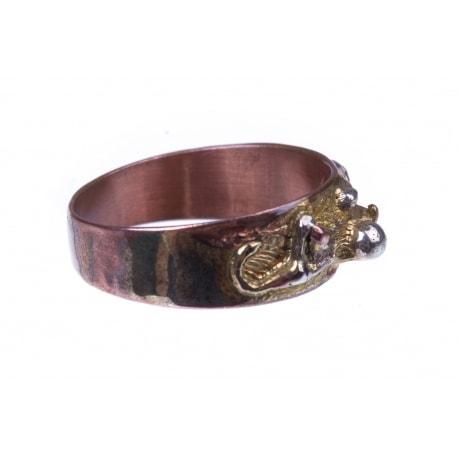 Autorinis žalvarinis žiedas