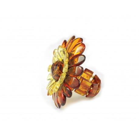 Gintarinis žiedas - gėlė