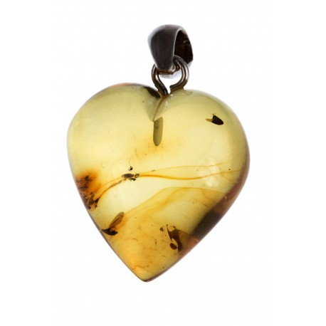 Sidabro pakabukas - širdelė