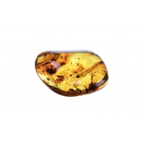 Rusvai - geltono gintaro grynuolis