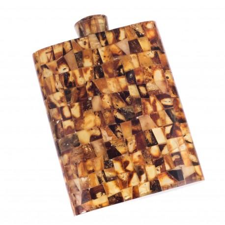 Stilinga, gintaro mozaika dekoruota gertuvė