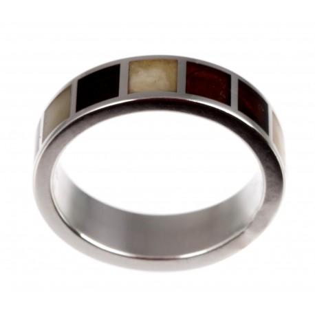 Sidabr žiedas su gintaru
