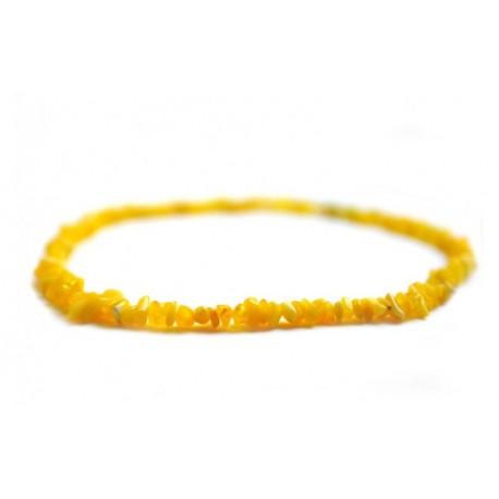 Medaus spalvos natūralaus gintaro karoliai